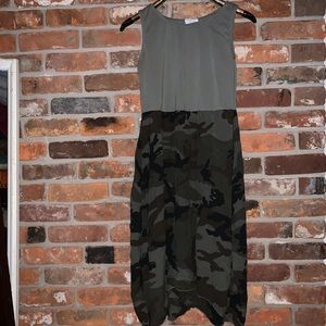 Film for towel olive green camo dress